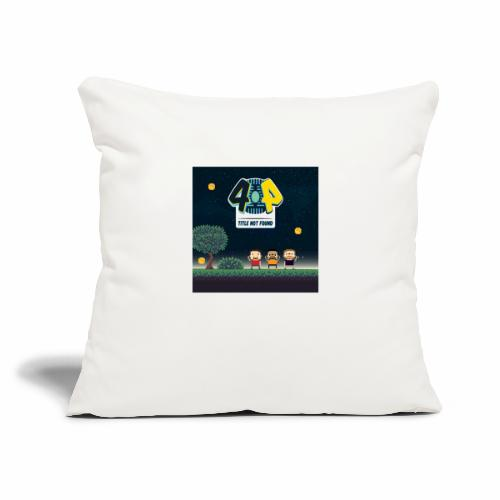"""Logo and avatars - Throw Pillow Cover 18"""" x 18"""""""