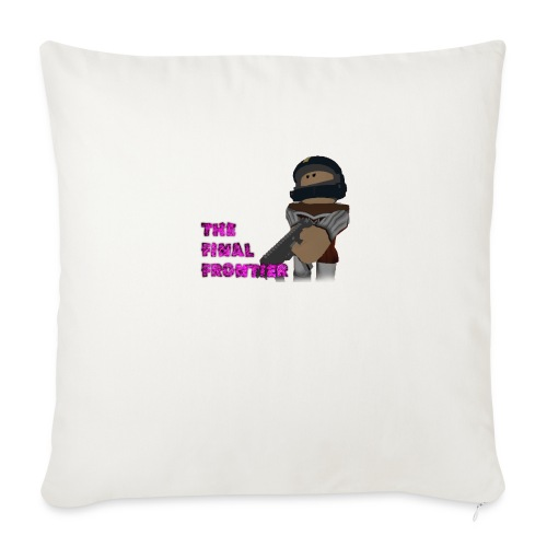 "The Final Frontier Sports Items - Throw Pillow Cover 18"" x 18"""