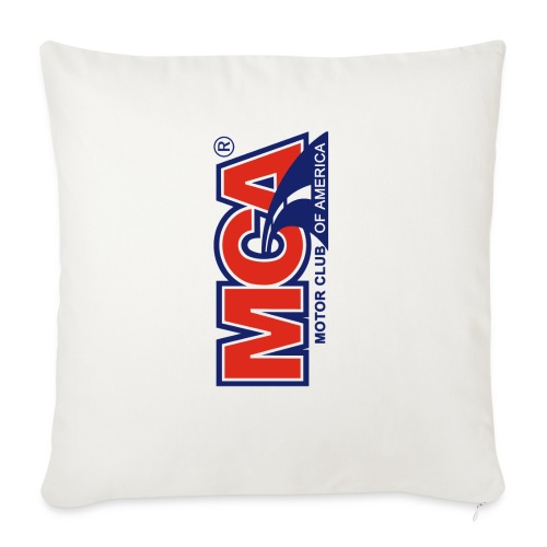 "MCA Logo Iphone png - Throw Pillow Cover 18"" x 18"""