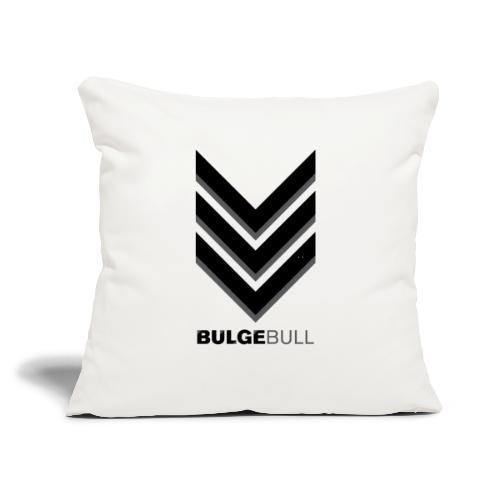 "bulgebull_badge - Throw Pillow Cover 17.5"" x 17.5"""
