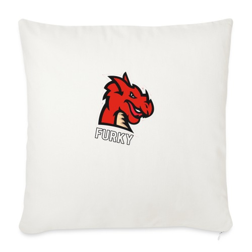 "FurkyYT - Throw Pillow Cover 18"" x 18"""