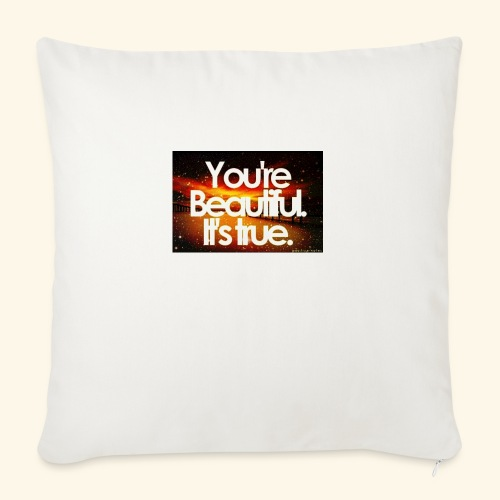 """I see the beauty in you. - Throw Pillow Cover 18"""" x 18"""""""