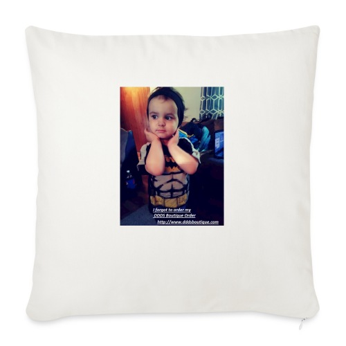 """DDDs Boutique Merch - Throw Pillow Cover 17.5"""" x 17.5"""""""