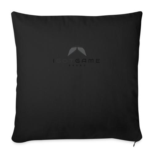 "IGOTGAME ONE - Throw Pillow Cover 18"" x 18"""