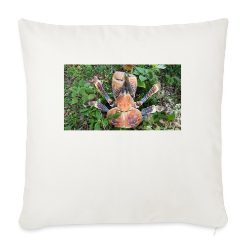 """ROBBER CRAB - Throw Pillow Cover 17.5"""" x 17.5"""""""