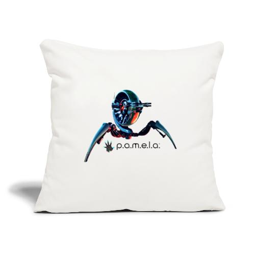 "P.A.M.E.L.A. Turret - Throw Pillow Cover 17.5"" x 17.5"""