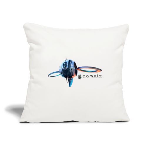 "P.A.M.E.L.A. Observer - Throw Pillow Cover 17.5"" x 17.5"""
