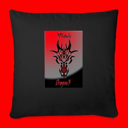"XMidniteDragonX - Throw Pillow Cover 18"" x 18"""