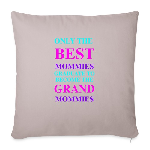 "Best Seller for Mothers Day - Throw Pillow Cover 18"" x 18"""