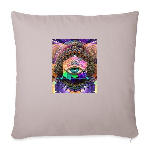 "ruth bear - Throw Pillow Cover 17.5"" x 17.5"""