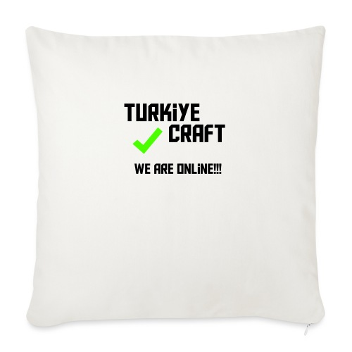 """we are online boissss - Throw Pillow Cover 18"""" x 18"""""""