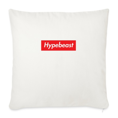 "HYPEBEAST - Throw Pillow Cover 18"" x 18"""