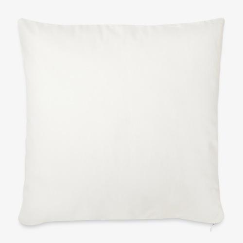 "dragon sil - Throw Pillow Cover 18"" x 18"""