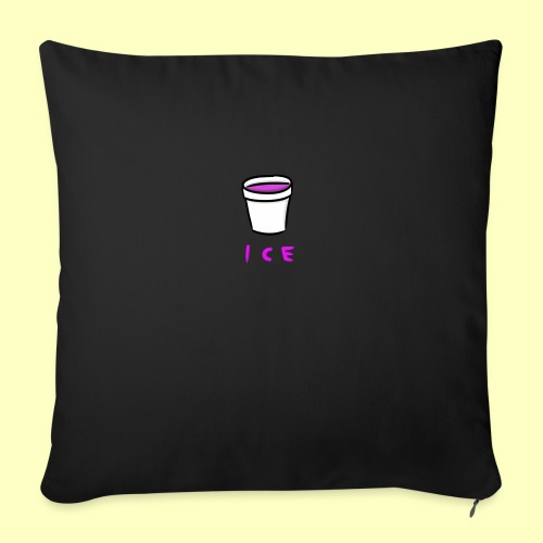 "ICE - Throw Pillow Cover 18"" x 18"""