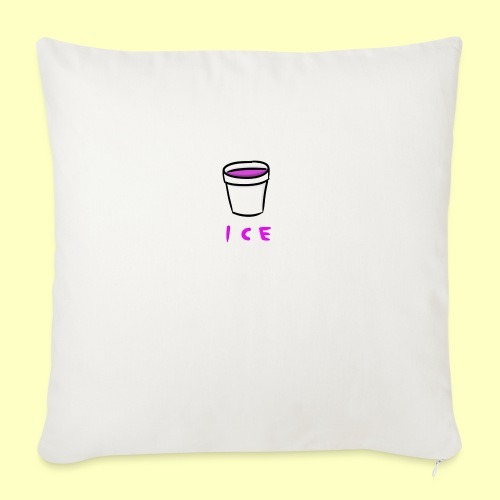 """ICE - Throw Pillow Cover 18"""" x 18"""""""