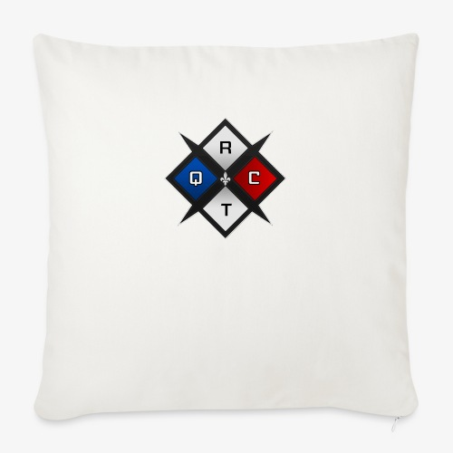 "RTQC Logo - Throw Pillow Cover 18"" x 18"""