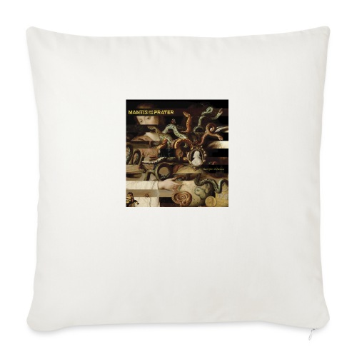 """Mantis and the Prayer- Butterflies and Demons - Throw Pillow Cover 17.5"""" x 17.5"""""""