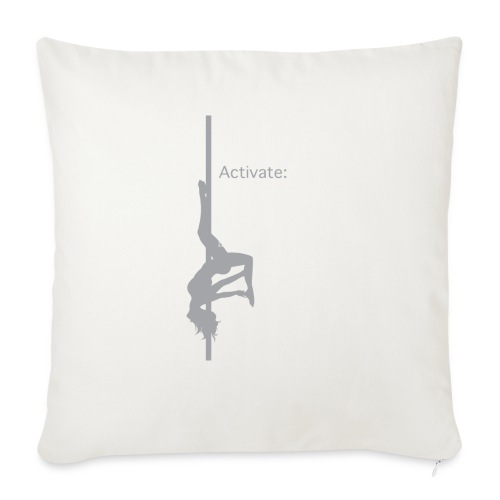 """Activate: Beast Style - Throw Pillow Cover 18"""" x 18"""""""