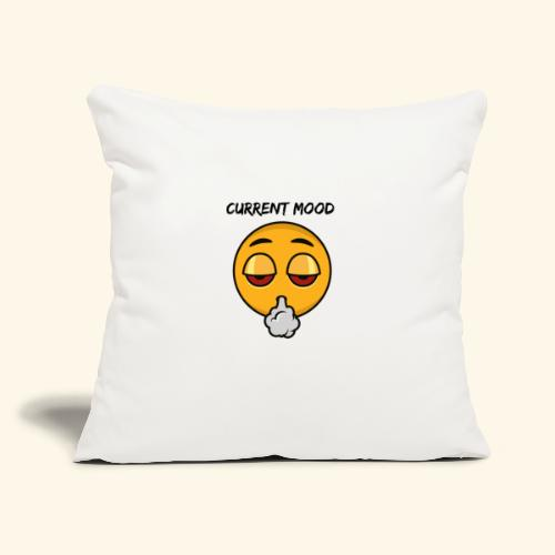 "CURRENT MOOD - Throw Pillow Cover 18"" x 18"""