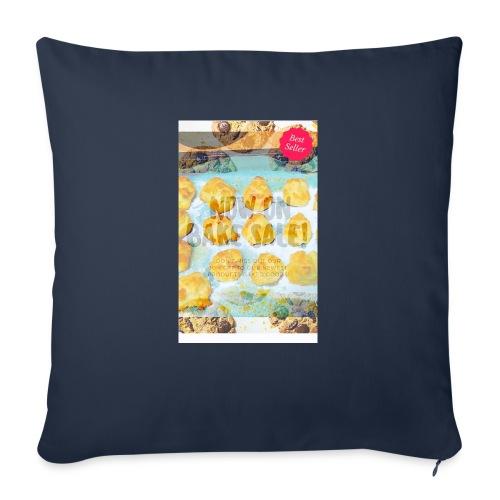 "Best seller bake sale! - Throw Pillow Cover 18"" x 18"""