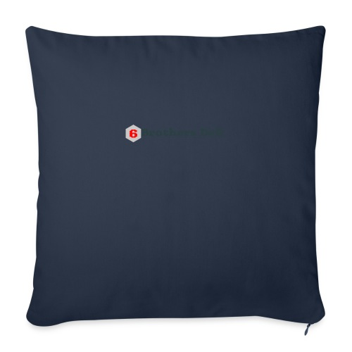 """6 Brothers Deli - Throw Pillow Cover 18"""" x 18"""""""
