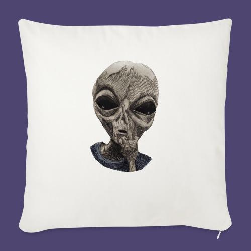 "Fuck Conformity - Throw Pillow Cover 18"" x 18"""