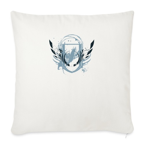 "COOL Painted Shield Design - Throw Pillow Cover 17.5"" x 17.5"""