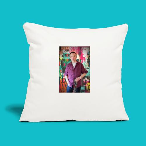 "Billy Domion - Throw Pillow Cover 17.5"" x 17.5"""
