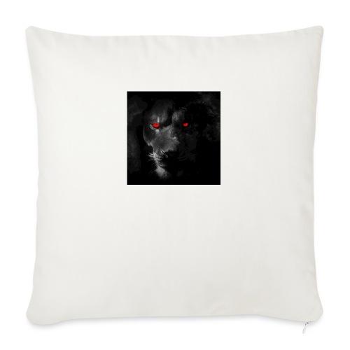 "Black ye - Throw Pillow Cover 17.5"" x 17.5"""