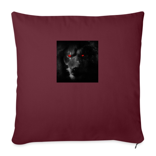 "Black ye - Throw Pillow Cover 17.5"" x 17.5"""