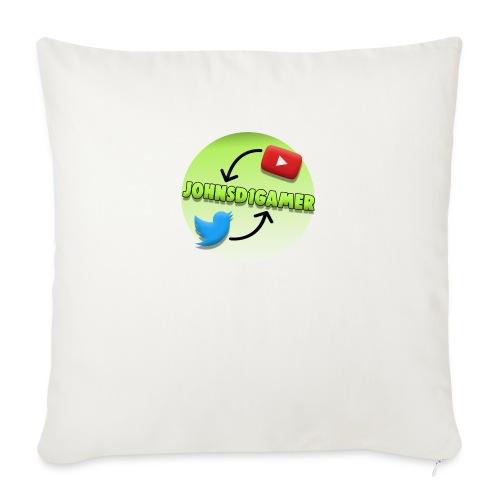 """JohnSD1Gamer - Throw Pillow Cover 18"""" x 18"""""""