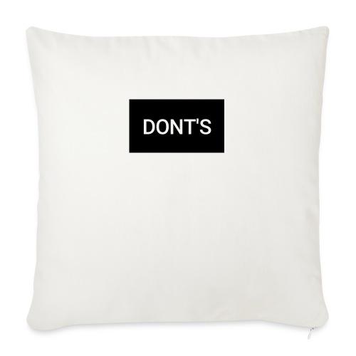 "Snapshot 569 - Throw Pillow Cover 18"" x 18"""