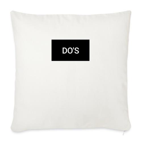 "Snapshot 568 - Throw Pillow Cover 18"" x 18"""