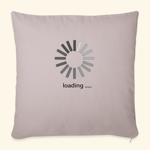"""poster 1 loading - Throw Pillow Cover 18"""" x 18"""""""