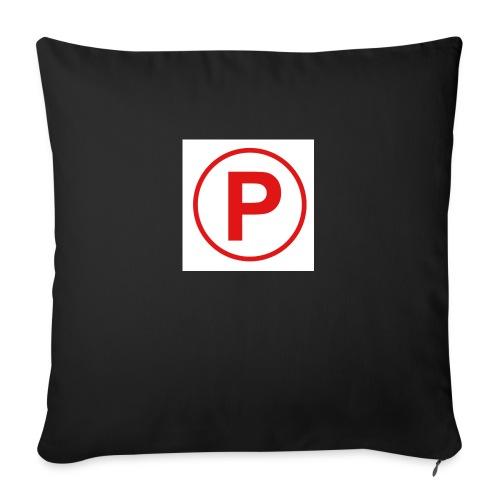 """Presto569 Gaming Logo - Throw Pillow Cover 18"""" x 18"""""""