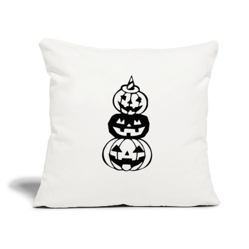 """Pumpkins - Throw Pillow Cover 17.5"""" x 17.5"""""""