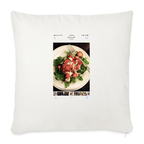 """King Ray - Throw Pillow Cover 18"""" x 18"""""""