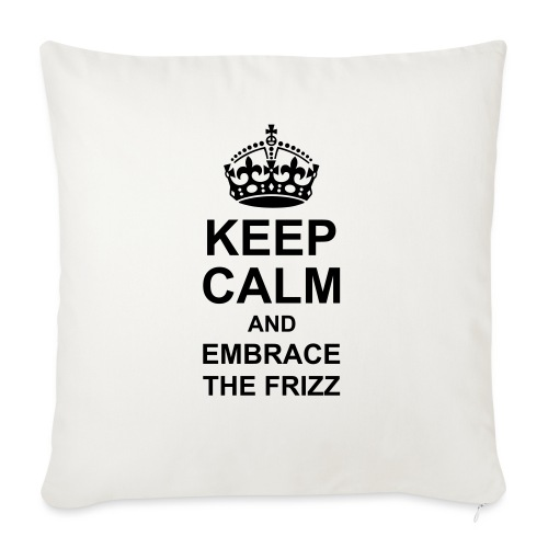 """frizz - Throw Pillow Cover 17.5"""" x 17.5"""""""