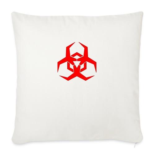 "HazardMartyMerch - Throw Pillow Cover 18"" x 18"""