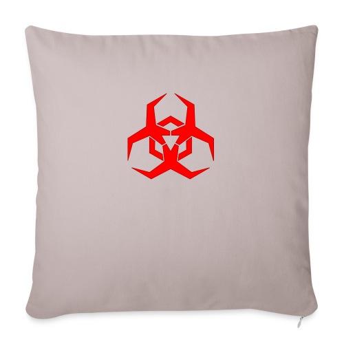 "HazardMartyMerch - Throw Pillow Cover 17.5"" x 17.5"""