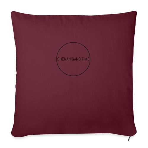 "LOGO ONE - Throw Pillow Cover 17.5"" x 17.5"""