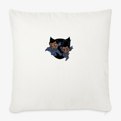 """ReckLess Youngster Superhero - Throw Pillow Cover 18"""" x 18"""""""
