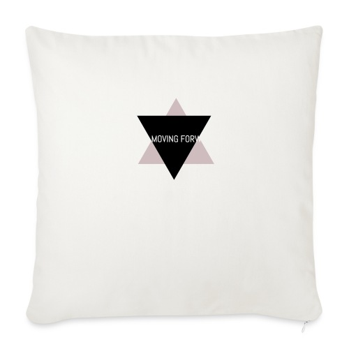 """Keep Moving Forward - Throw Pillow Cover 18"""" x 18"""""""