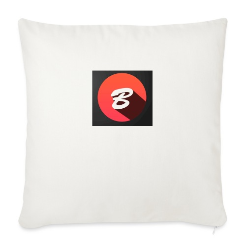 """BENTOTHEEND PRODUCTS - Throw Pillow Cover 17.5"""" x 17.5"""""""