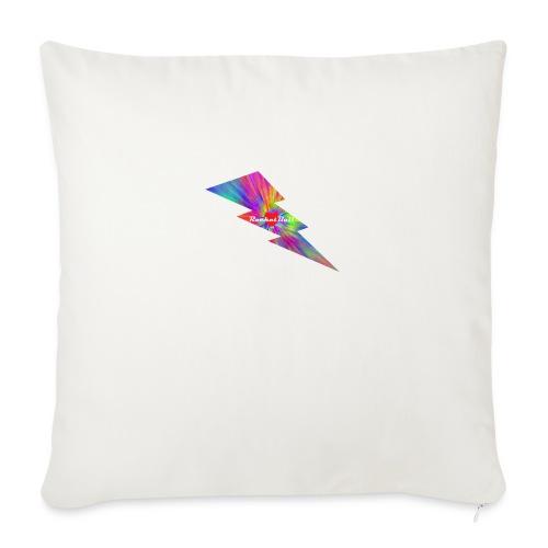 "RocketBull X E - Throw Pillow Cover 18"" x 18"""