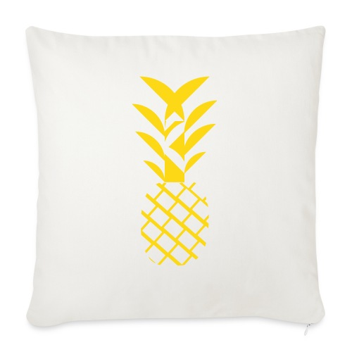 """Pineapple flavor - Throw Pillow Cover 18"""" x 18"""""""