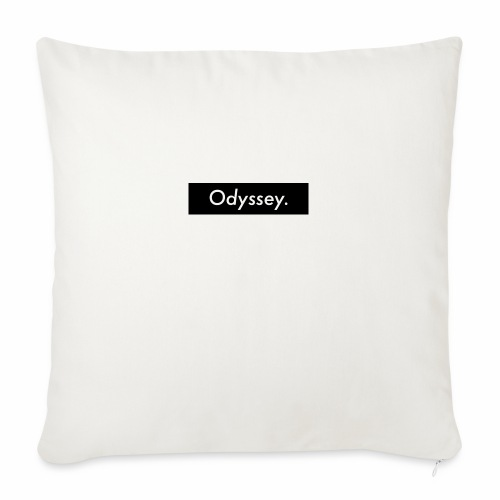 "Odyssey life - Throw Pillow Cover 17.5"" x 17.5"""