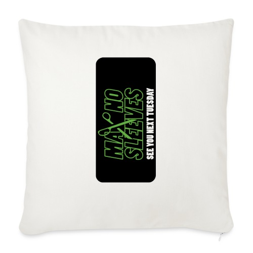 "syntiphone5 - Throw Pillow Cover 17.5"" x 17.5"""