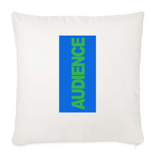 "audiencegreen5 - Throw Pillow Cover 17.5"" x 17.5"""