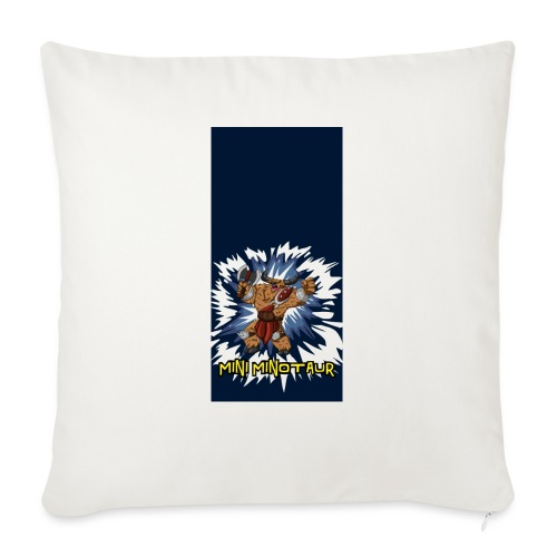 "minotaur5 - Throw Pillow Cover 18"" x 18"""